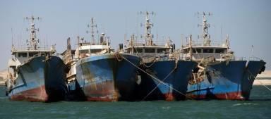 6 nouveaux navires chinois à destination du Sénégal et de la Guinée-Bissau pour du thon et des crevettes-1