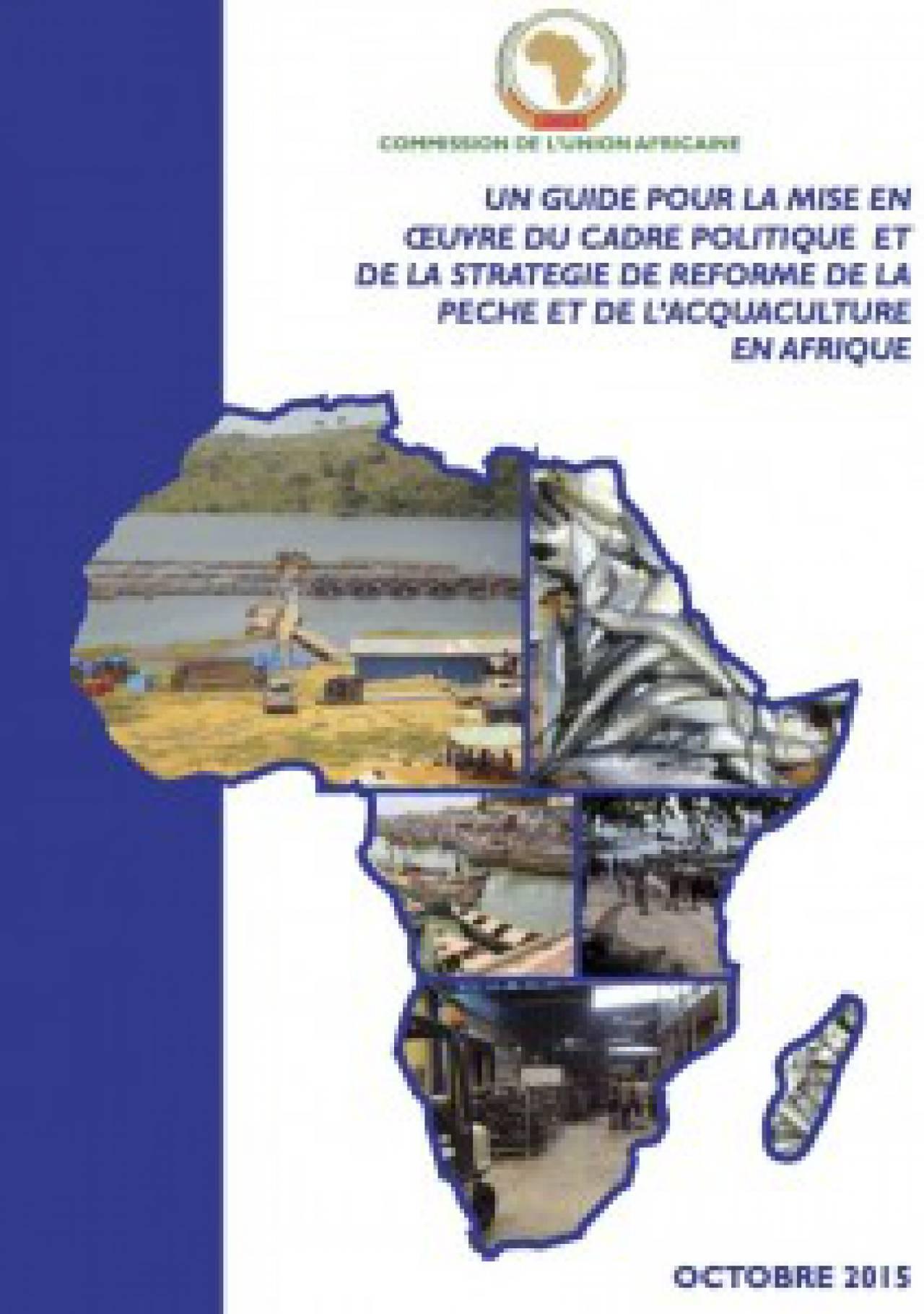 Guide pour la mise en œuvre du cadre politique et de la stratégie de réforme de la pêche et de l'aquaculture en Afrique