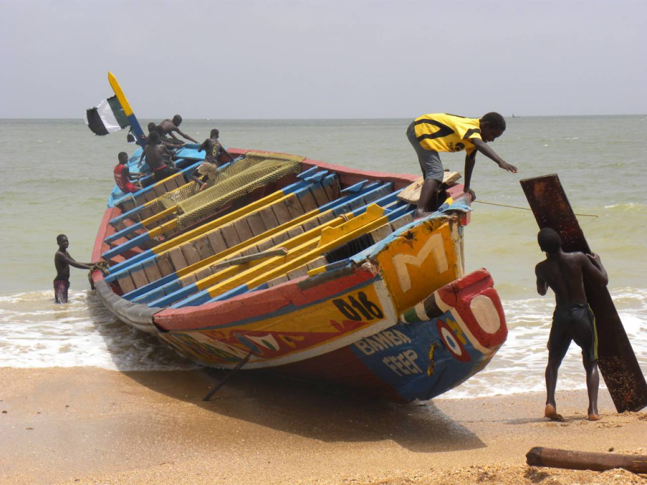 LA PRODUCTION DE FARINE DE POISSON : enjeux pour les communautés côtières ouest africaines